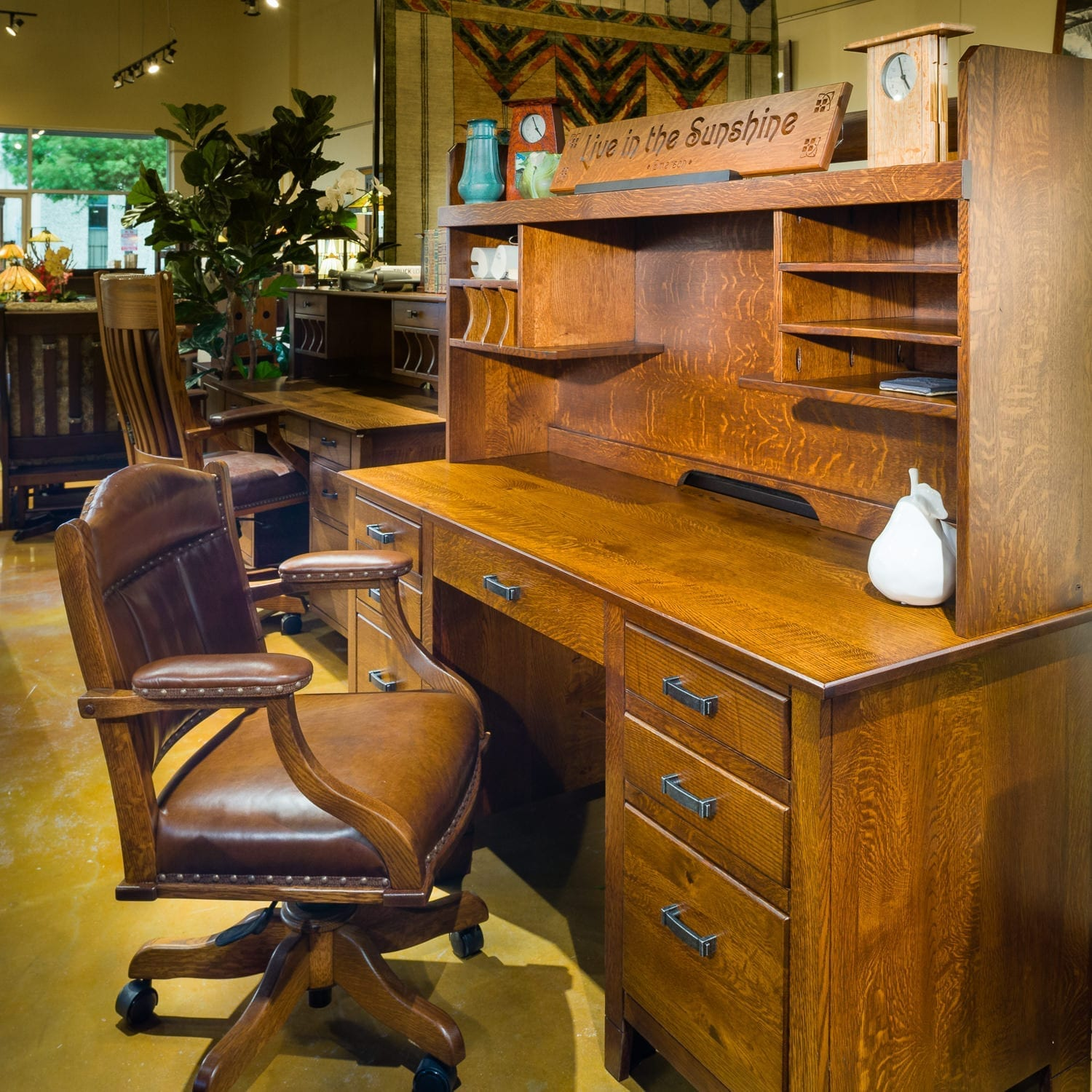 Amish Office Furniture 4
