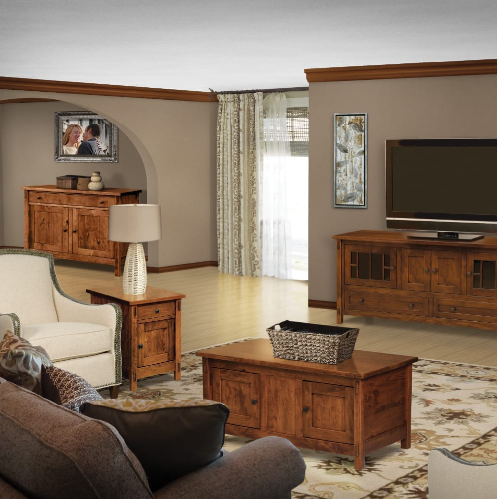 Mission Craftsman living room furniture