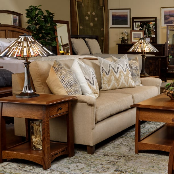 Upholstered Living Room Furniture 1