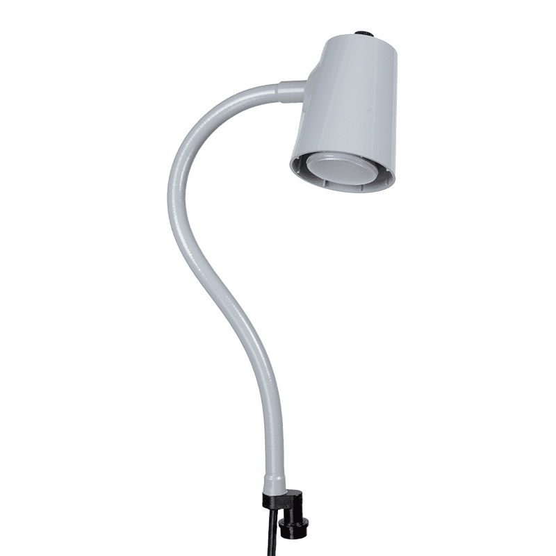 94300 24in gray lamp, quick disconnect coupler base